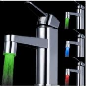Bathroom led faucet lighting images