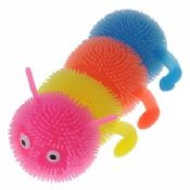 rubber Four caterpillars luminous ball / colorful light-emitting toy random color images