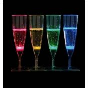 Liquid activated Champagne Led Flashing cup images