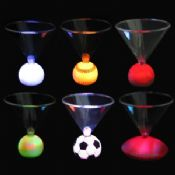 Sport ball style Flashing Cup with 3 Multicolor Leds images