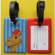 Standard Flexible PVC Luggage Tag images
