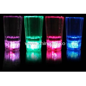Small ice cup , Flashing Cup with 3 multicolor Leds