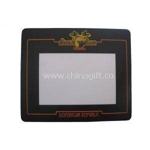 Anti Slip Material Base Personalized Photo Insert Mouse Pads With Valuable Photos