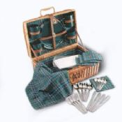Wicker Picnic Basket images