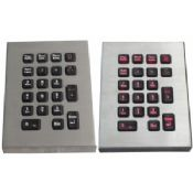 Industrial pc desk top keyboards / numeric keypad with touchpad images