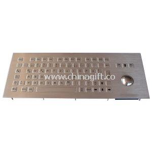 Metal wall mount keyboard waterproof For banking