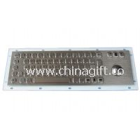 Panel Mount Industrial PC Keyboard with trackball