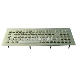 Waterproof keyboard with encryption PINPAD for ATM