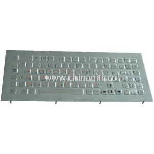 Industrial PC Keyboard with numeric keypad , Anti-Microbial keyboard
