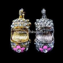 USB-HDD Or USB-ZIP Mode Jewelry USB Flash Drive images