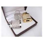 High Speed Flash Memory Jewelry USB Flash Drive 16GB With Free Logo images