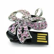 USB Version 2.0 Jewelry USB Flash Drive 4GB With Original Flash Memory images