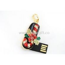 Jewelry USB Flash Drive 128GB With USB-HDD Or USB-ZIP Mode images