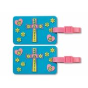 Silicone Luggage Tag With Printed Or Embossed Logo images