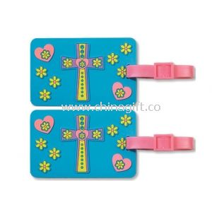 Silicone Luggage Tag With Printed Or Embossed Logo