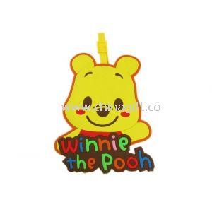 Winnie the Pooh Silicone Luggage Tag