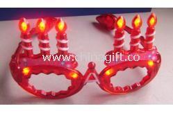 Flashing Happy Birthday Sunglasses