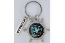 Compass  Metal keychain images