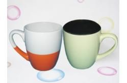 double color ceramic mug images