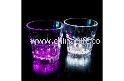 PS / Acrylic 250ml LED Flashing Rocks Cup