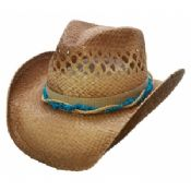 Western straw cowboy hat images