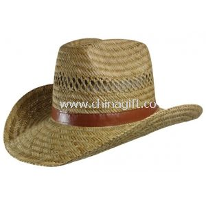 Natural Hollow straw hat