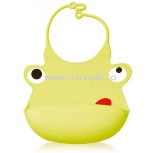 New style babys personality cartoon silicone bibs