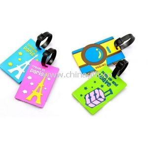 Customized Silicone Luggage Tag For Promotional Gifts