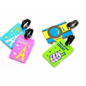 Customized Silicone Luggage Tag For Promotional Gifts images