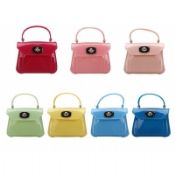 Lady Fashion Colorful Silicone Handbag images
