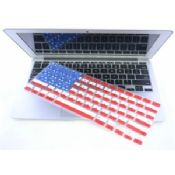 Silicone Keyboard Covers With USA Flag Customized images