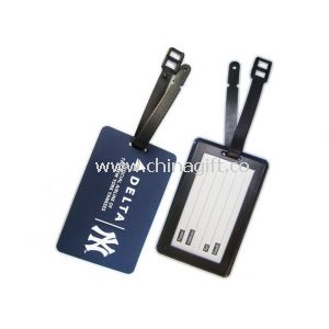 Silk Printed PVC Luggage Tag For Men
