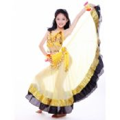 Girls Belly Dancer Performance Costume images