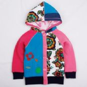 Outwear Girls Fleece Coat with Hood images