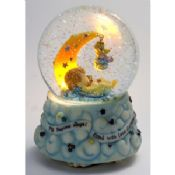 Water/Snow Globes hand painting with rotating music images
