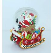 Water/Snow Globes musical with snowmen at christmas images