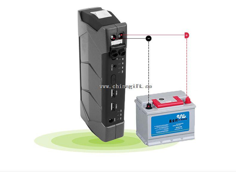 Mini Jump Starter 12000mAh12V carro Booster bateria cortadores banco de potência