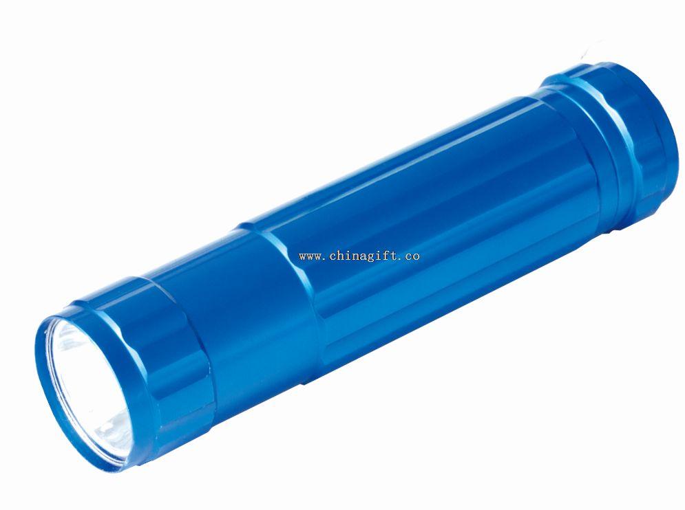 80lm blue mini led colorful flashlight
