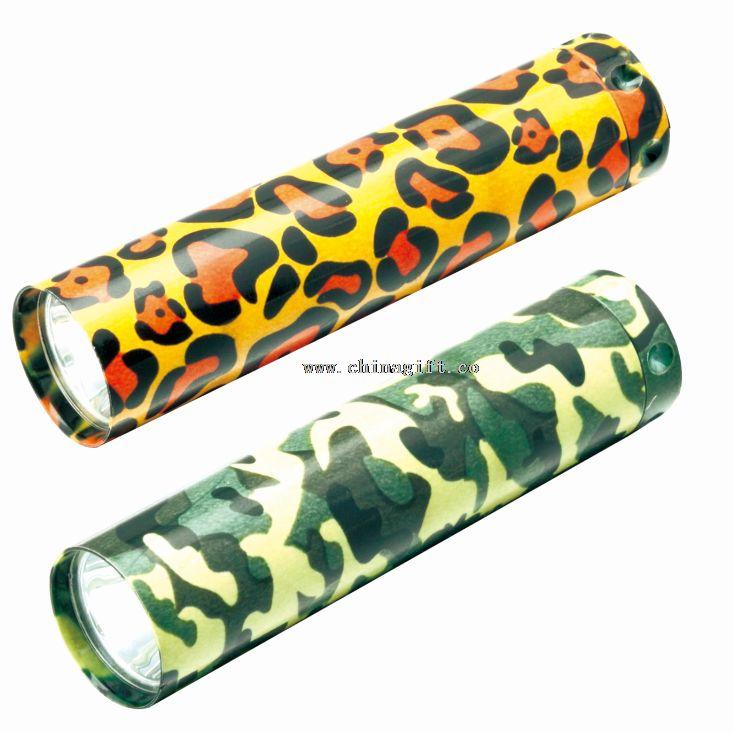 Camouflage led flashlight