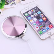 mini portable power bank with mirror images