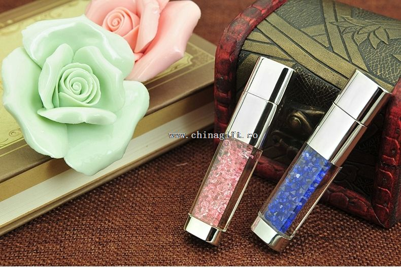 1gb~64gb crystal design usb flash drive