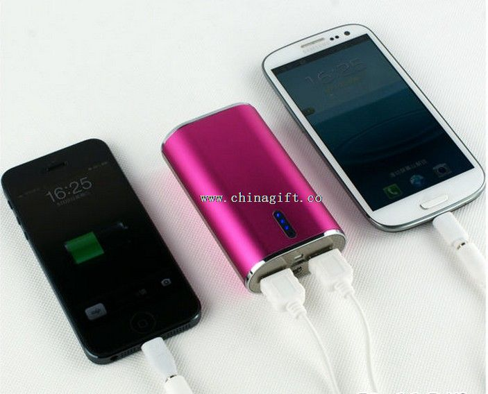 2600mah Lipstick Emergency mobile power bank