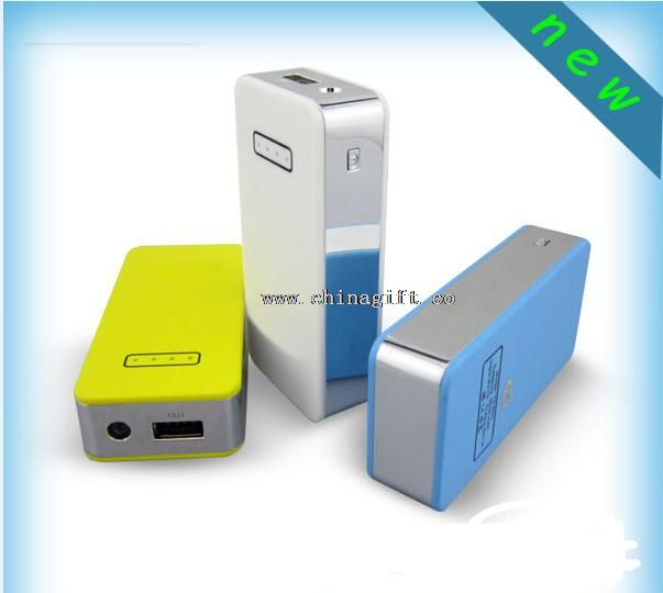 Led torch light square portable mobile power bank
