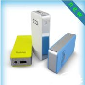 Led torch light square portable mobile power bank images
