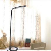 folding desk lamp with flexible arms touch switch images