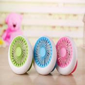 mini handheld battery operated pocket fan images