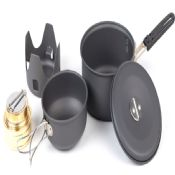 Mini Kit with Alcohol Burner outdoor cookware images
