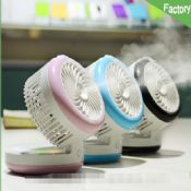 mini mist cooling fan with power bank images