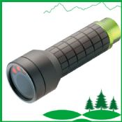 tactical flashlight and bike light with bike clip images