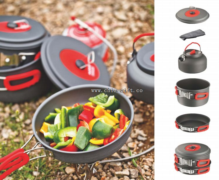 5PCS CAMPING COOK SET